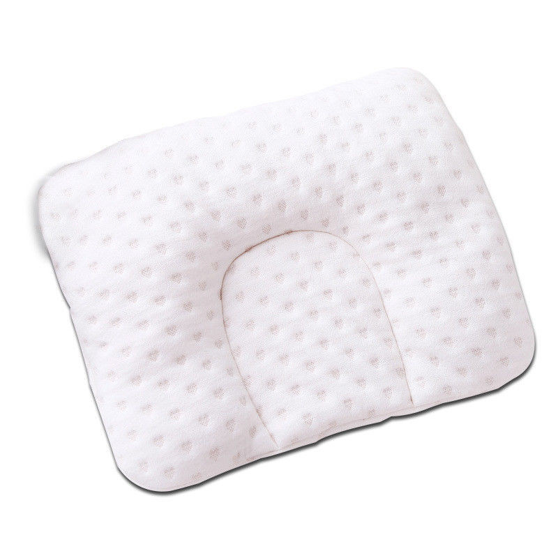 infant newborn baby shaping pillow with memory foam to prevent flat head and anti roll