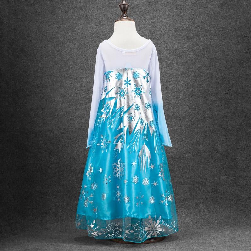HTB1KLBLnwnH8KJjSspcq6z3QFXaF Queen Elsa Dresses Elsa Elza Costumes Princess Anna Dress for Girls Party Vestidos Fantasia Kids Girls Clothing Elsa Set