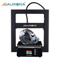 JGAURORA A5S 3D принтеры Модернизированный с сертификацией UL сертифицированный источник питания и принт с SD карты строить Размеры 305*305*320 мм