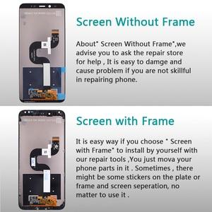 Image 3 - 5.99 Inch Lcd scherm Voor Xiao Mi Mi A2/6X Display Touch Screen Digitizer Vergadering Frame Voor Xiao Mi mi 6X Lcd 2160*1080