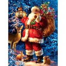 diamond embroidery santa claus,full square,5d painting,mosaic,diamond paintings merry christmas