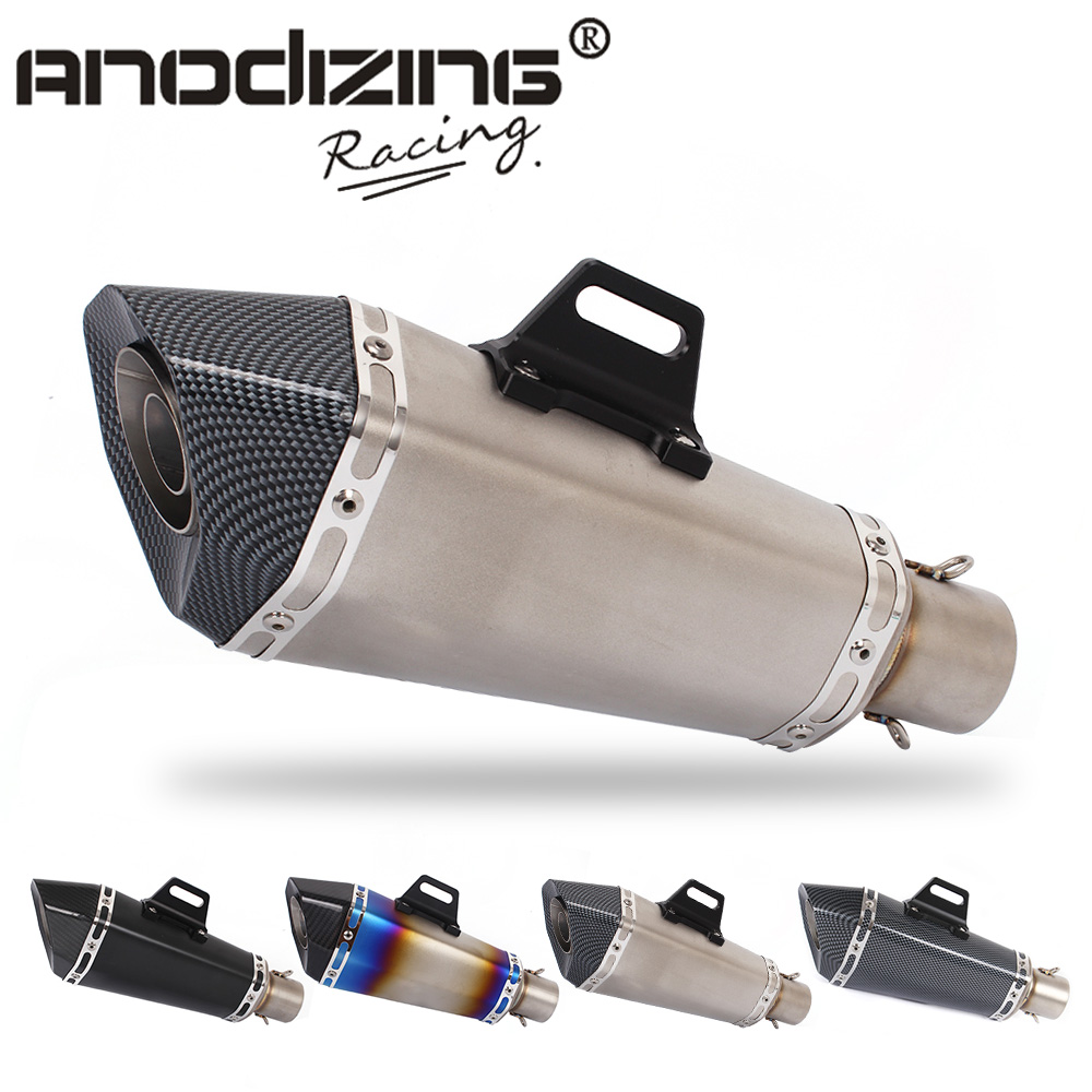 Universal 36-51mm exhaust Motorcycle Modified Scooter Exhaust Muffle