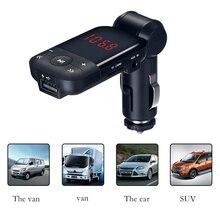 Авто bluetooth fm-передатчик с USB Зарядное устройство автомобильный комплект громкой связи Mp3 плеер Hands Free Беспроводной FM передатчик Bluetooth