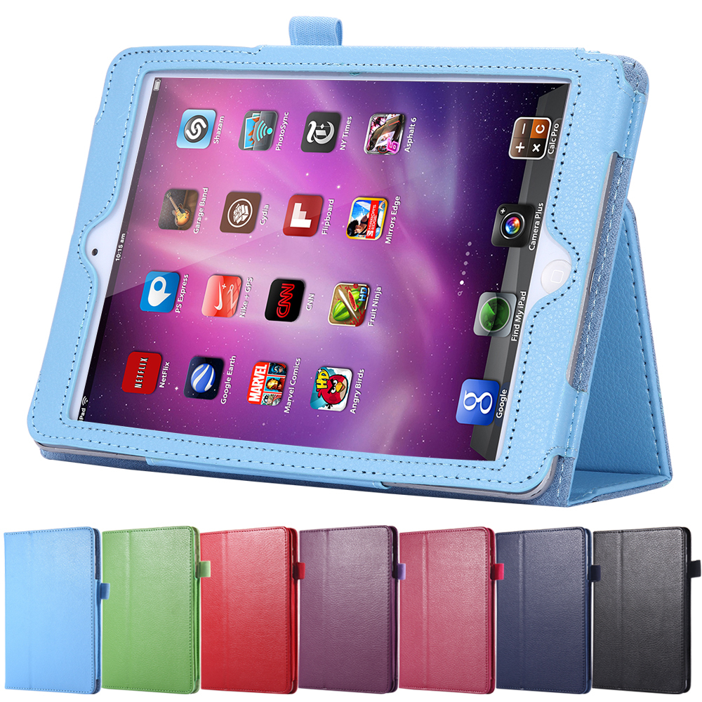 KISSCASE Luxury Slim Leather Book Case for Apple ipad 2 ipad 3 iPad 4 Tablets Accessories