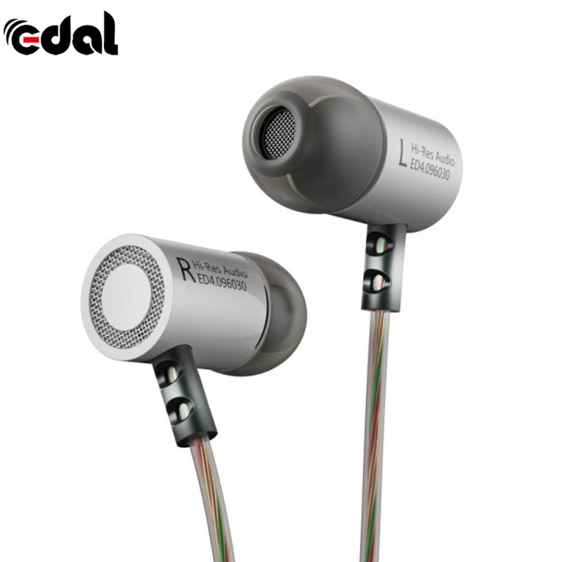 KZ ED4 In Ear Headsets Earbuds Original Kz HiFi Music Headset Auriculares Noise Cancelling Stereo Earphone With Mic