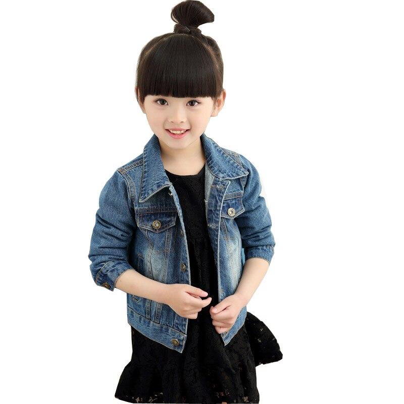 2018 Fashion Spring Children Outwear Coat Kids Denim Jacket Baby