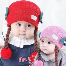 Фотография Cute Baby Wig Hats Bow-knot Children