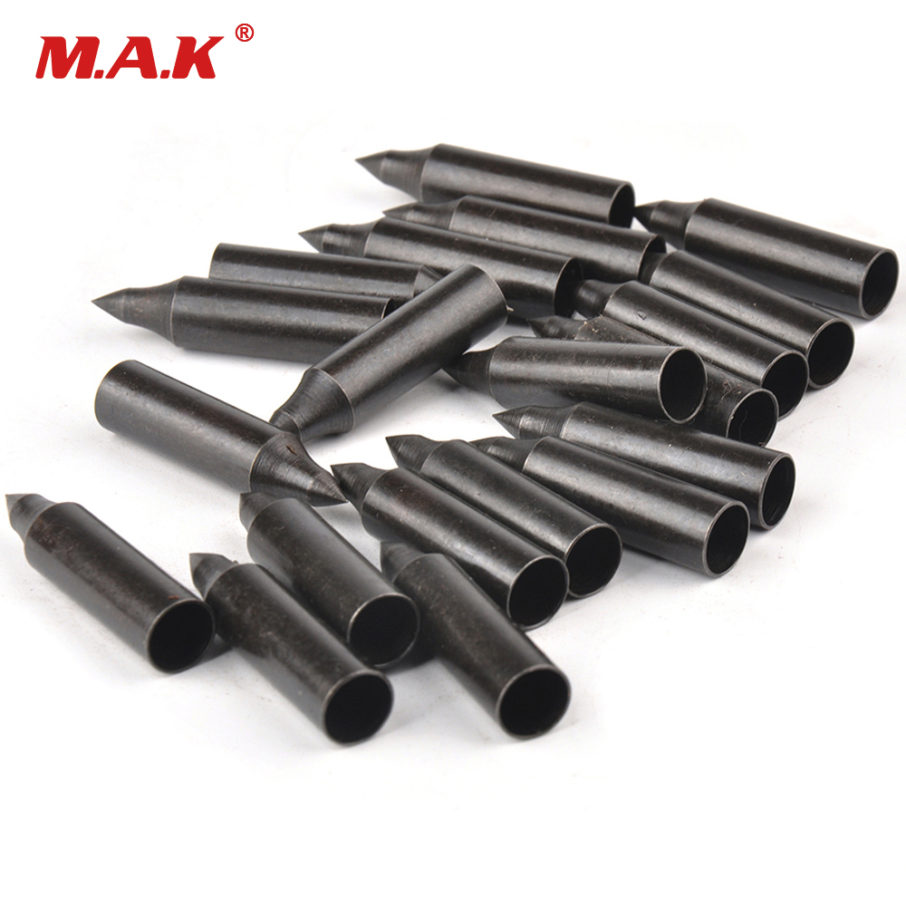 20/50/100pcs 100Grain Archery Parts Field Tips Target Point Carbon Steel Arrowhead Arrow Heads Arrow Hunting Accessories
