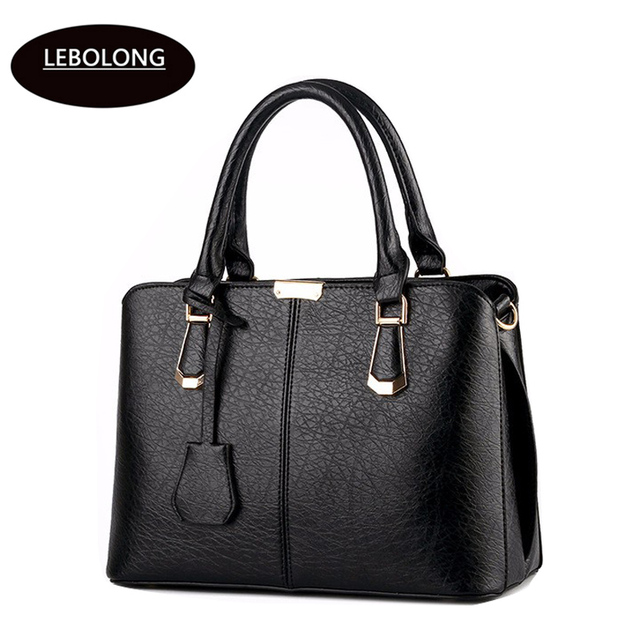 Women Leather Handbags Hot Medium Shoulder Bags Luxury Messenger Bag 2017 Famous Brands Female Tote