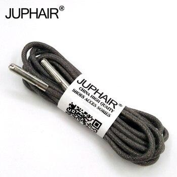 8f5c8ef7ca8 1-12 pares gris oscuro de alta calidad fabricantes. cordones encerado ronda  los cordones de los zapatos de la zapatilla de deporte de poliéster  trenzado ...