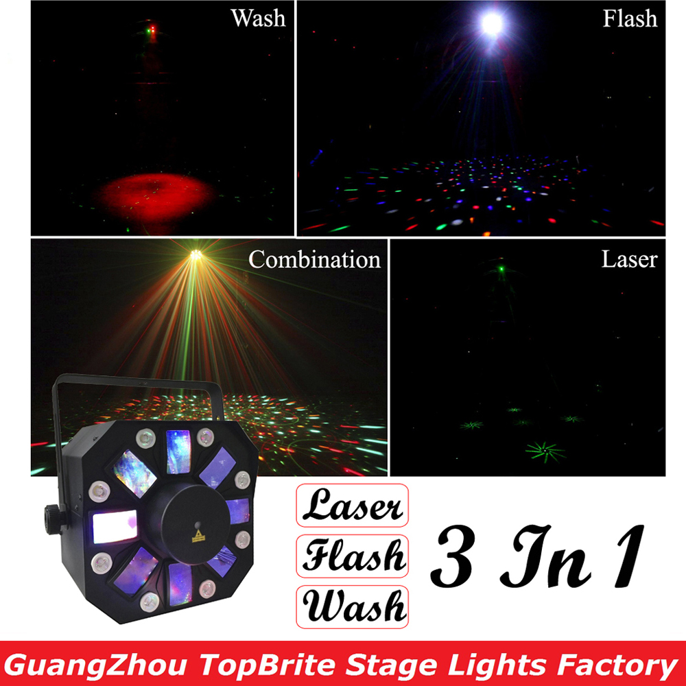 2017 Newest LED Stage Effect Lights High Quality 8X3W RGBWA + 8X1W White Color LED Effect Lights For Party Wedding KTV Disco Dj