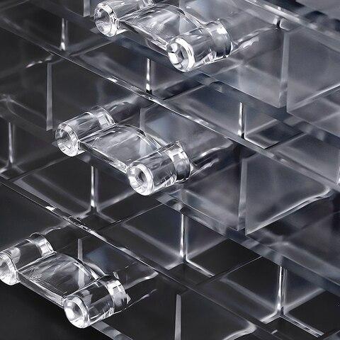 5 camada de acrilico transparente maquiagem gavetas de