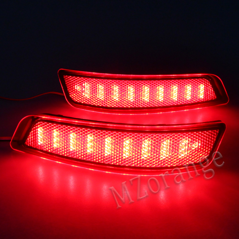 Tail Lights For Toyota Corolla 2014 2015 Lexus LED Car Styling Auto Rear Bumper Reflectors Fog Light Brake Turn Signals 1 pair in Car Light Assembly from Automobiles Motorcycles