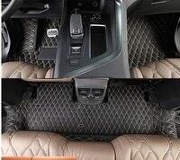 Высокое качество! Специальные автомобильные коврики для Peugeot 5008 5 Стульчики Детские 2017 водонепроницаемый автомобиля ковры для Peugeot 5008 2018, Бе