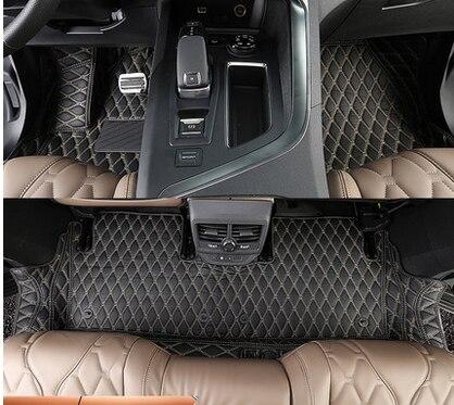 Haute Qualite Special De Voiture Tapis De Sol Pour Peugeot 5008 5