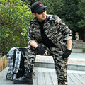 Autumn 2016 Woodland hunting clothing equipment military clothing Army Men Tactical Camouflage Jacket + Pants Long slevess 4XL