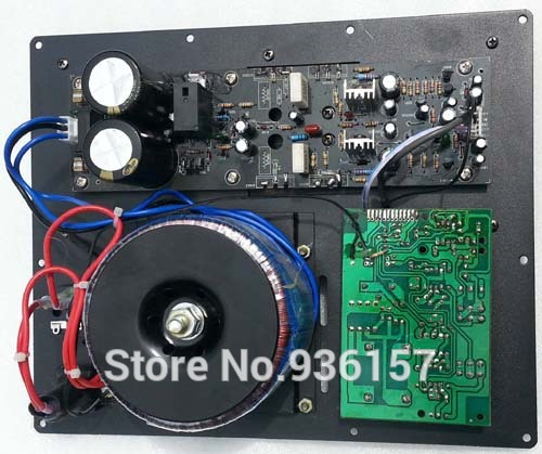 300W Subwoofer amplifier board low pass filter subwoofer pure home theater amp