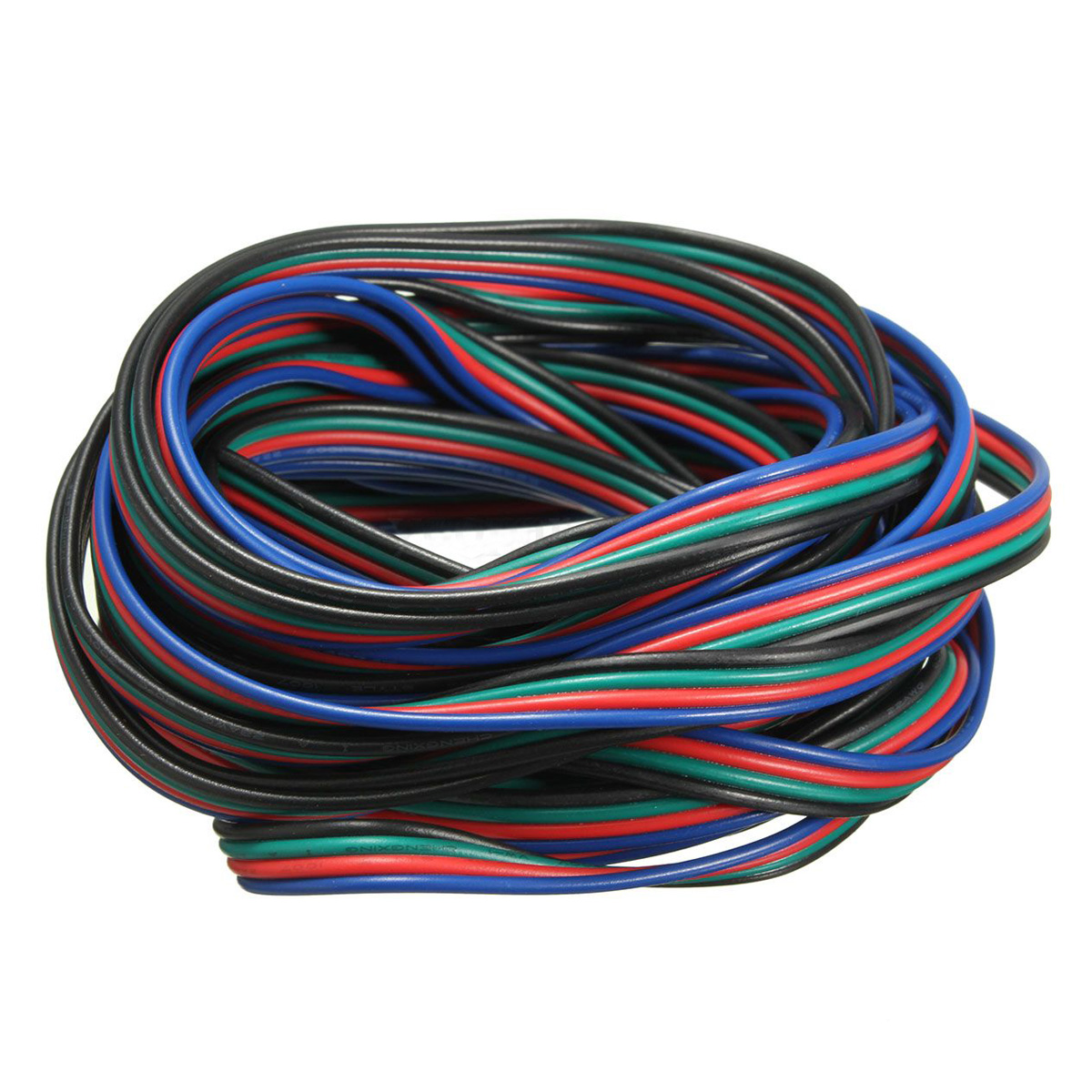 High quality 4 Pin Wire Extension Connector Cable Cord For LED RGB Strip 3528 5050 Connector Colourful 20M
