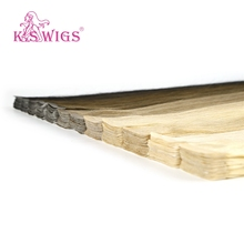 K.S WIGS 80pcs/pack Tape In Remy Human Hair Double Drawn Straight Luxury On Adhesive Skin Weft Hair Extensions  20'' 2.0g/pc sambraid straight hair skin weft 22 inch 40 pieces pack synthetic hair extensions tape in hair pure color double side tape