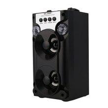 De interior Al Aire Libre Altavoces Portátiles Inalámbricos Bluetooth Manos Libres de Música Audio Altavoz con TF USB Radio FM AUX