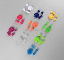 OCGAME 2sets/lot 10 colors ON OFF button Power D pads A B keypad buttons for Gameboy color GBC