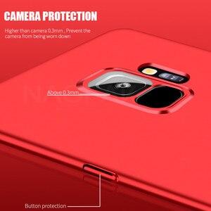 Image 4 - NAGFAK 360 フルカバー電話ケース銀河 S9 S8 プラス S7 S6 エッジ注 9 8 S8 PC 保護カバー S8 S9 ケースとガラス