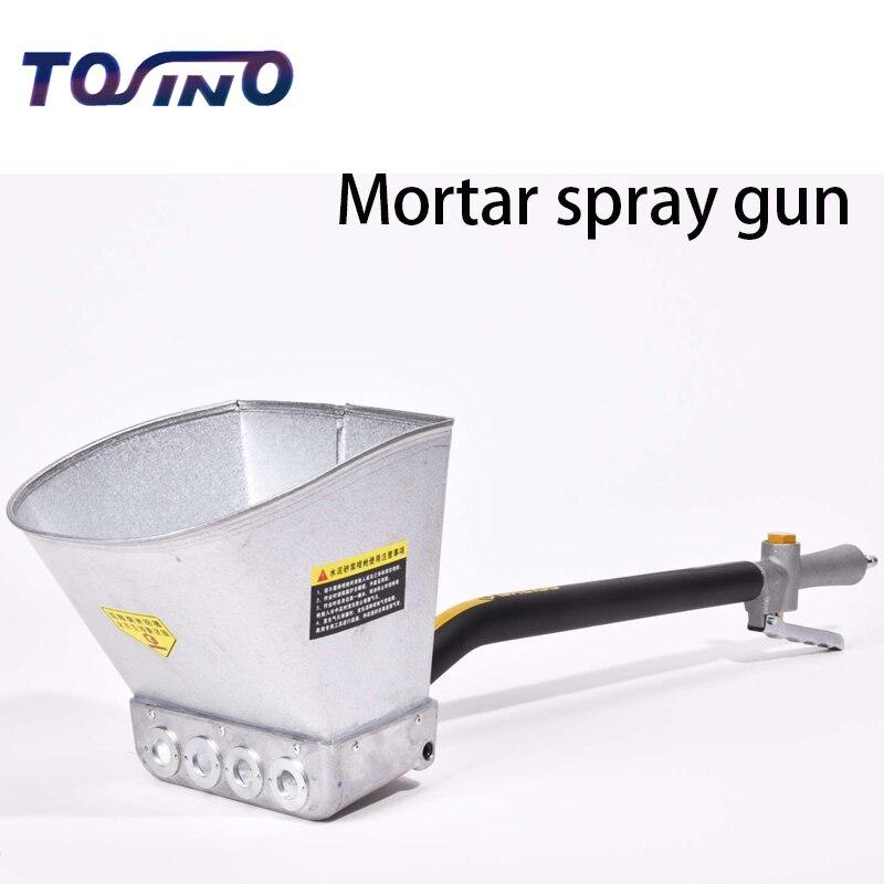 Fast Delivery Mortar Sprayer Wall Mortar Gun Professional upgrade Air Stucco sprayer Mortar sprayer Plaster sprayer Cement spray  цены