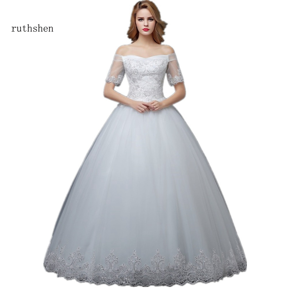 Discount Bridal Gowns: Ruthshen Cheap Ball Gown Wedding Dresses 2018 New Off