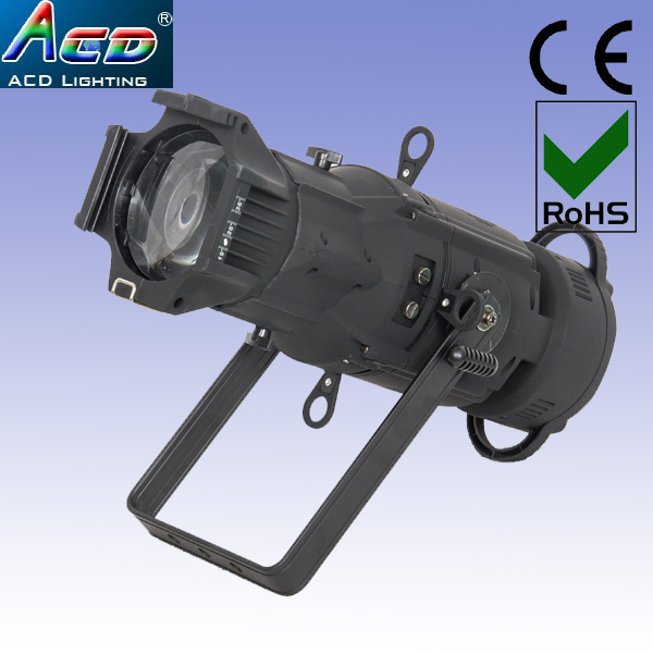 wholesale stock high power CRI>90 black color body 150w 4in1 rgbw led theater ellipsoidal lekos spot light