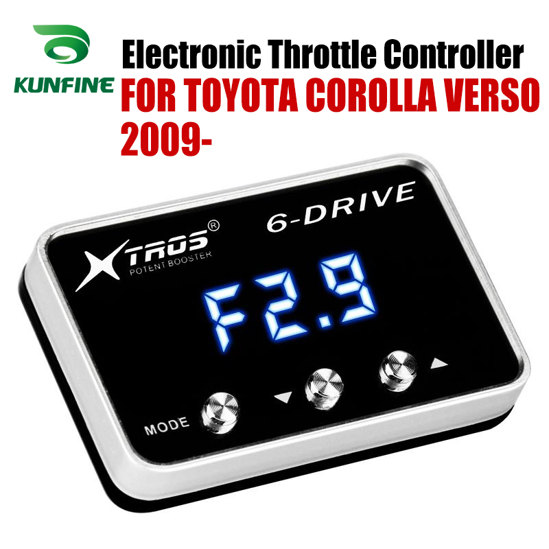 Car Electronic Throttle Controller Racing Accelerator Potent Booster For TOYOTA COROLLA VERSO 2009-2019 Tuning Parts AccessoryCar Electronic Throttle Controller Racing Accelerator Potent Booster For TOYOTA COROLLA VERSO 2009-2019 Tuning Parts Accessory