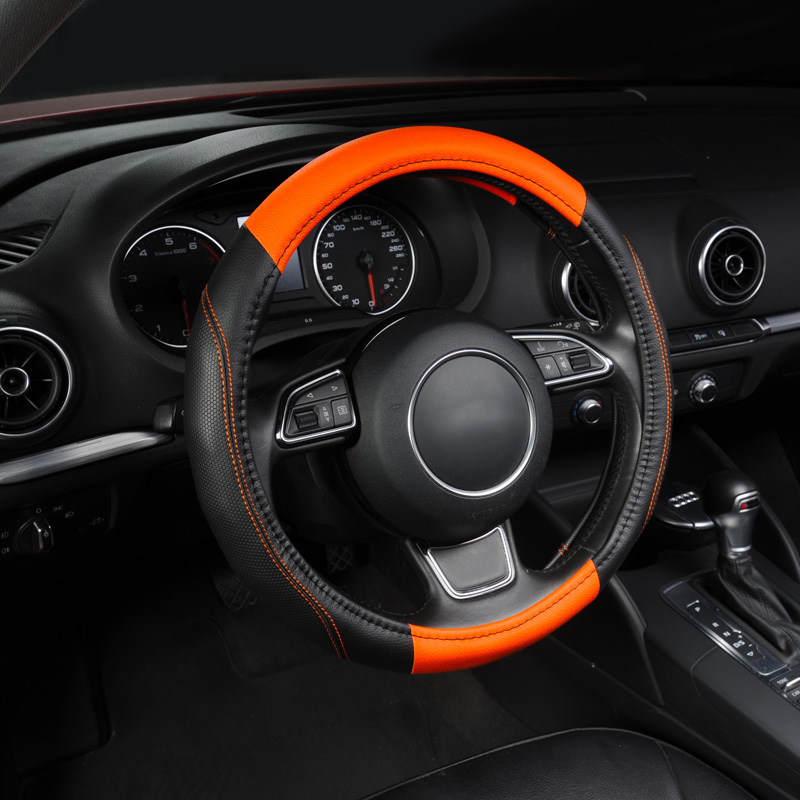 Steering Wheel Cover, Universal New Sports Style Anti-SLIP 2