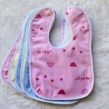 Высококачественное непромокаемое полотенце для малышей одноразовые водонепроницаемые Слюнявчики для еды
