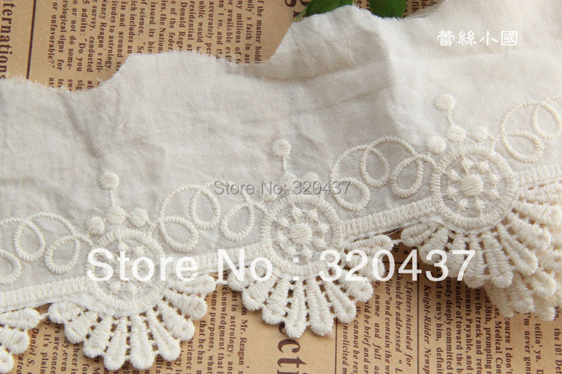 Popular eyelet embroidery fabric buy cheap