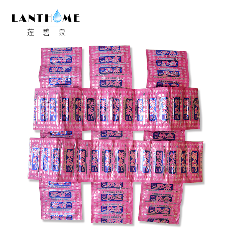 Penis Extender Sex Condoms 50 Pcs For Men Large Oil Condom With Spike Stimulate G Point Sexual Toys Intimate Goods For Adults