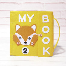 Handmade DIY My Book Baby First Quiet Books 22X24CM Special Gift For Kids Early Cognitive Development Toys Felt DIY Package(China)