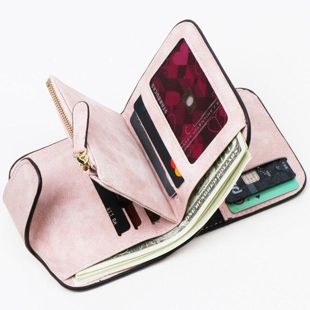 Women RFID Blocking Women Wallet Purse Wallet Female Card Holder Long Lady Clutch purse Carteira Feminina 2