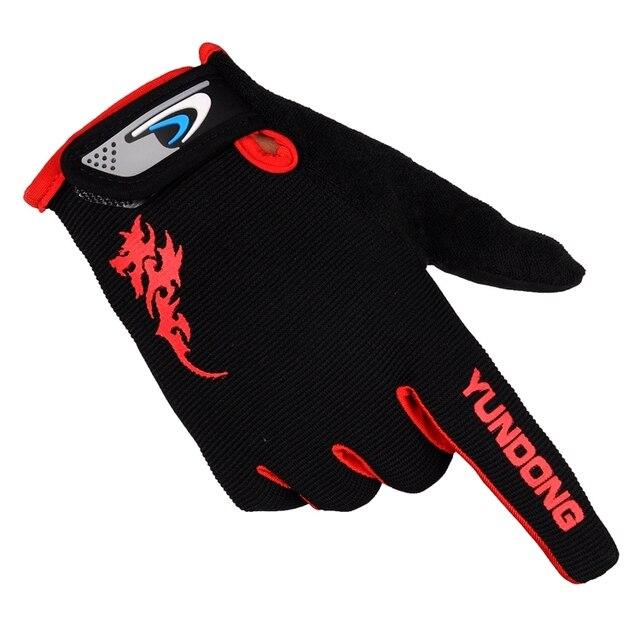 Spike Luvas de Dedos Completos Antiderrapante homens e mulheres escalada esportes de fitness ao ar livre andar de bicicleta luvas de dedo longo