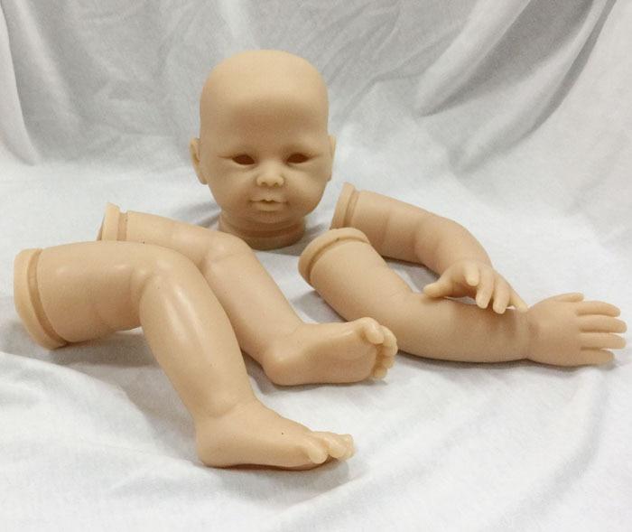 цены Reborn Doll Kits for 20 inch Soft Vinyl Reborn Baby Dolls Accessories for DIY DK-86 Realistic Toys for DIY Reborn Dolls Kits
