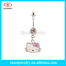 Buy Hello Kitty Navel Jewelry And Get Free Shipping On Aliexpress Com