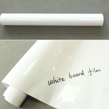Sunice 1.52x20m White Writing Board Film Self-Adhesive Whiteboard Board Film for home Office School Meeting Room