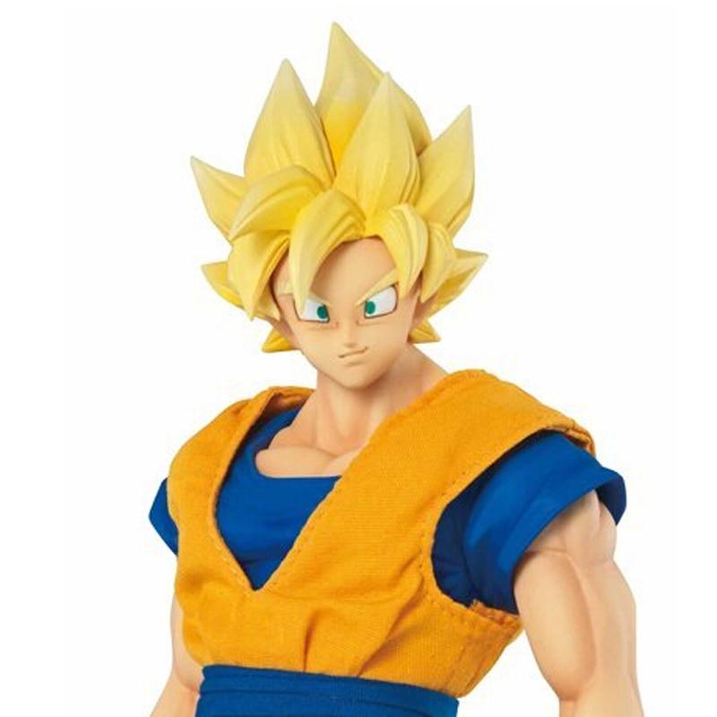 MegaHouse DOD Dragon Ball Z Son Goku PVC Action Figure 21CM DOD Super Saiyan Goku Collectible Model Toy Figuarts DBZ Figuras