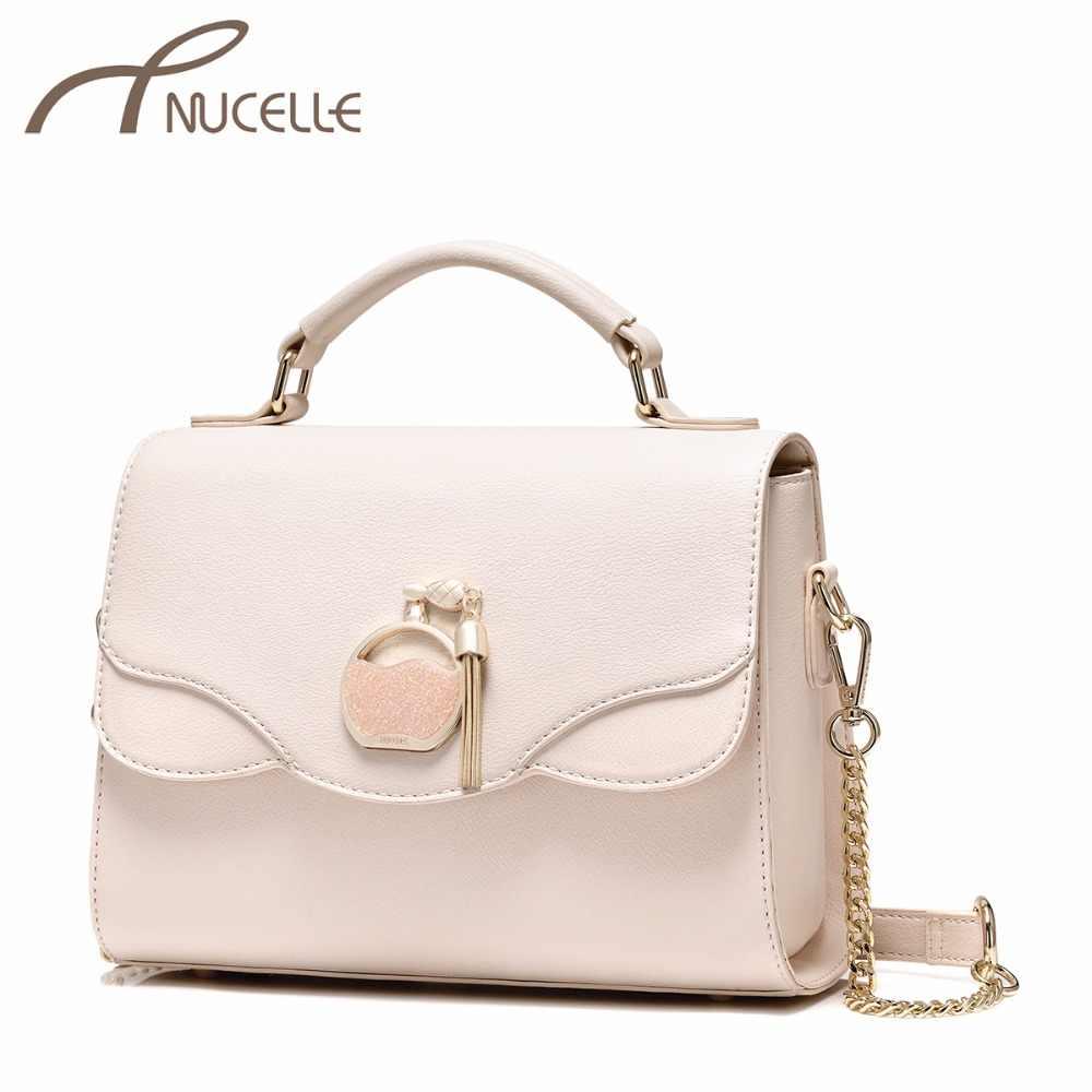 33a46453c18e NUCELLE Дамская мода цепи краткое сумка кошелек женский флакон духов для  отдыха сумки NZ4088 Для женщин