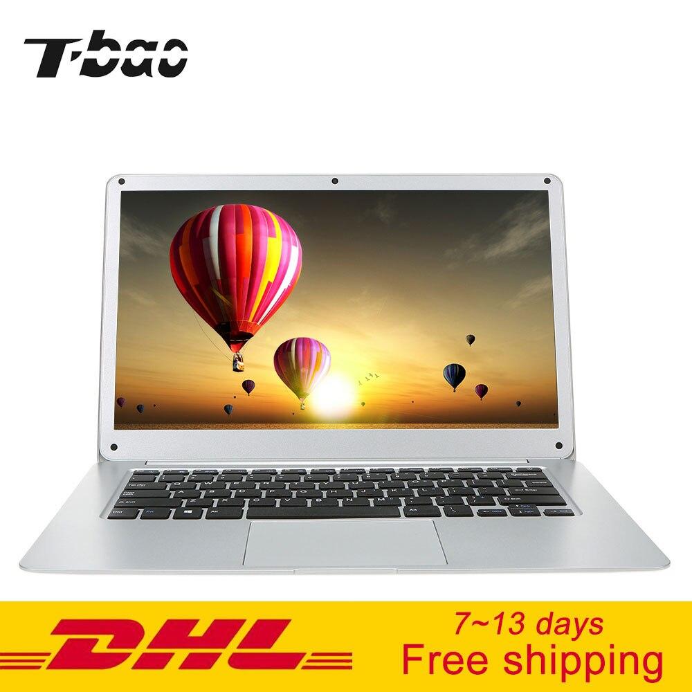 "T-Бао Ноутбуки tbook Pro ультратонкие игровой ноутбук Тетрадь PC 14.1 ""Экран 1920*1080 для Intel z8350 4 ГБ DDR3L 64 ГБ EMMC компьютер"