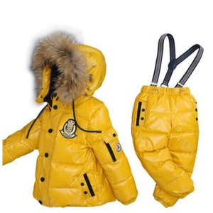 MVJT DAIR Winter Children Clothing Set Boys Girls Suit Kids