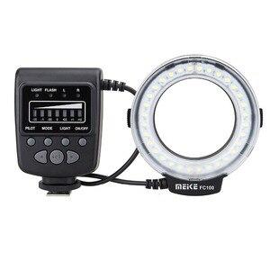 Image 3 - Meike FC 100 FC100 Macro Ring Flash Light per Nikon Canon EOS 650D 600D 60D 7D 550D T4i T3i per Nikon d5300 D7000 D5200 D90 ecc