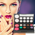 High Quality 10 Colors Professional Practical Blusher Powder Makeup Cosmetic Palette Tool