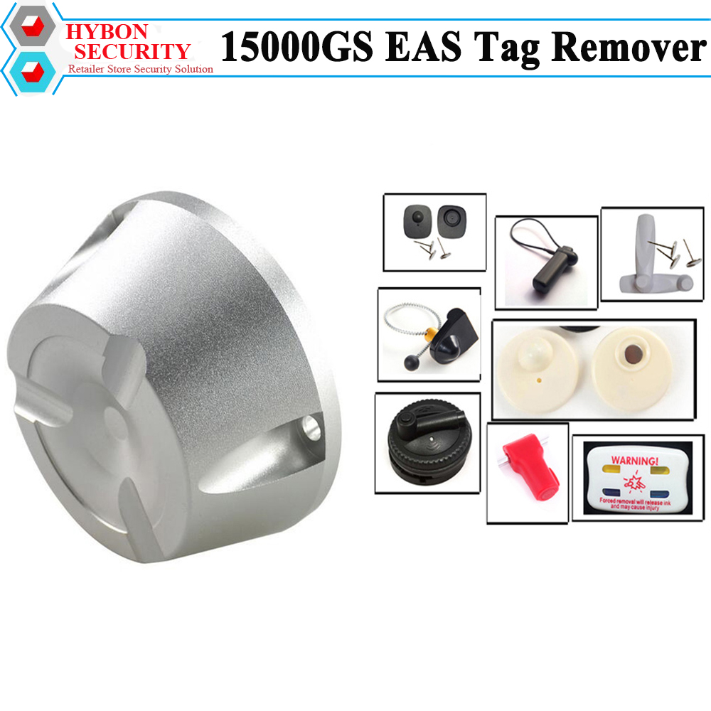 HYBON 15000gs Tag Removersuper Magne Detacher Security EAS System Iman Para Ropa Stoplocks Magnetic Remover hybon security super golf detacher 15000gs eas tag remover security magnetic detacher clothing tag remover llavero cuerda