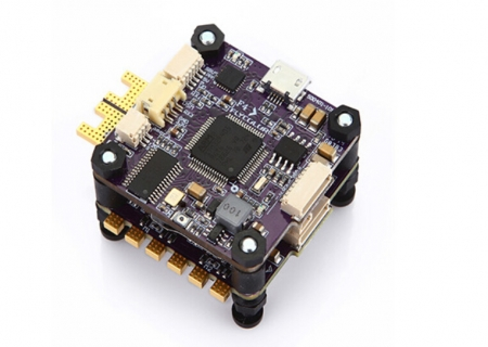 цена на X-Tower F4 40A F4 FC and 32 Bits 4in1 ESC 3-6S 40A for FPV Racer Helicopter 170-450 Multi-rotor Accessory