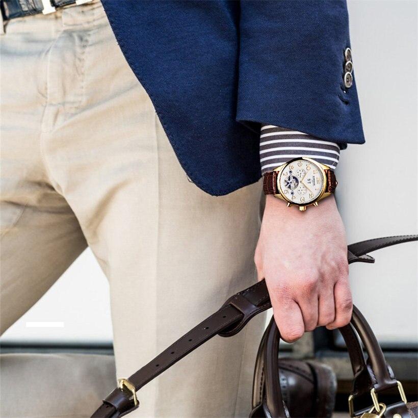 edc317cac8c Relógios Mecânicos luxo relógios mecânicos automáticos dos Tipo de Item    Relógios de Pulso Mecânicos