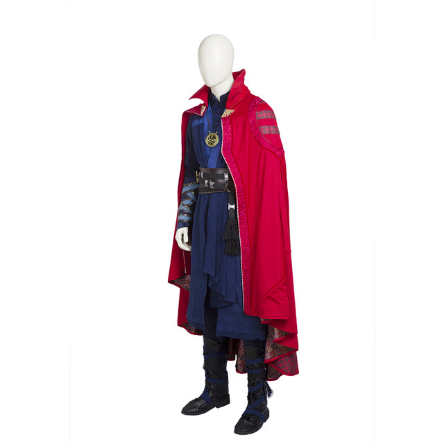 Doctor Strange Costume Stephen Vincent Strange Cosplay Costume Men Full Set Halloween Cosplay Costume For Men Custom Made  sc 1 st  Aliexpress & Online Shop Doctor Strange Costume Stephen Vincent Strange Cosplay ...